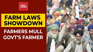 Farmers Hold Key Meet To Discuss Modi Govt's Offer To Suspend Farms Laws For 18 Months | India Today