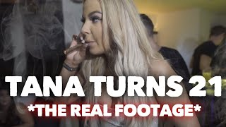 Tana Turns 21 REAL Bday Party Footage *Never Seen* Filmed Before Tana Mongeau Married Jake Paul