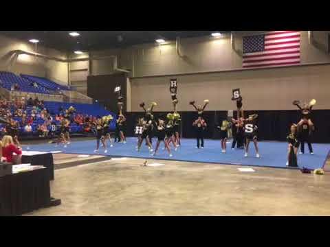 Bentonville High School 2017-2018 Varsity Cheer