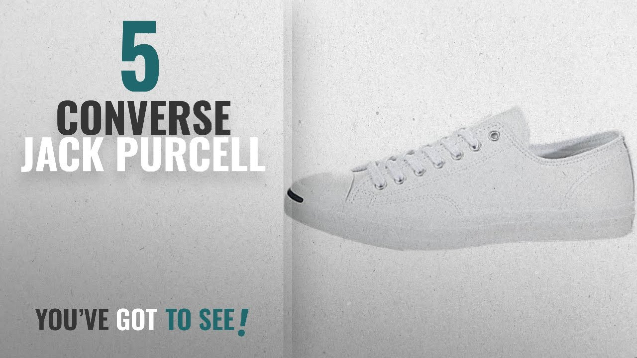 Top 5 Converse Jack Purcell  2018   Converse Jack Purcell Leather ... 90d89eb1a