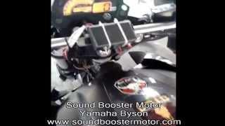 Sound Booster Motor Yamaha Byson