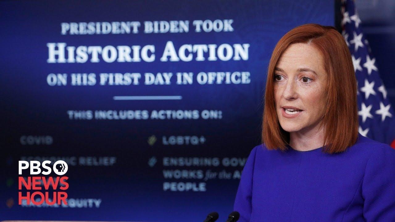 WATCH LIVE: Psaki holds White House briefing as Biden readies COVID economic relief plan