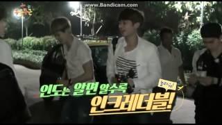 Choi minho (SHINee Minho , CNblue Lee Jonghyun, Super Junior Kyuhyun) dance AOA's Like a cat