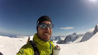 Mont Blanc 4808m - one day ascent - 21. May 2016