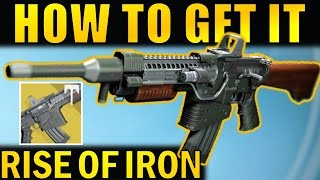 Destiny: How to get the Khvostov Exotic Auto Rifle | Complete Walkthrough | Rise of Iron