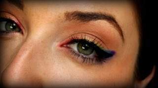 Rainbow Eye Tutorial Thumbnail