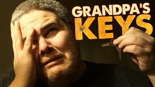 GRANDPA TURNS IN HIS KEYS! (IN 60 FRAMES!)