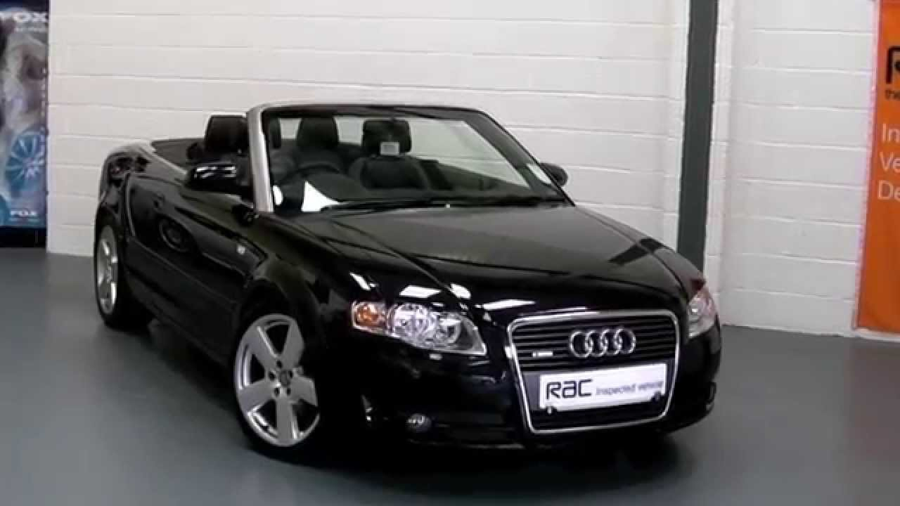 Audi A4 Tdi S Line Cabriolet Offered For Sale At