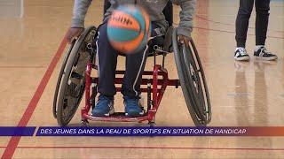 Yvelines | Des jeunes dans la peau de sportifs en situation de handicap