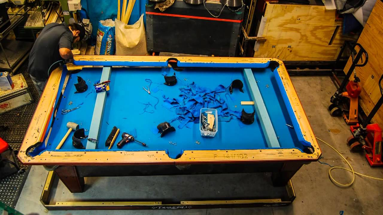 Diamond ProAm Recover With Simonis HR Timelapse YouTube - 9ft diamond pool table