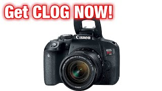 Get C LOG For Your Canon Camera