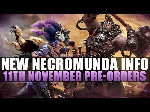 Necromunda Website is LIVE! 11th November Pre-orders! |
