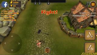 Slash Arena: Online Android Gameplay