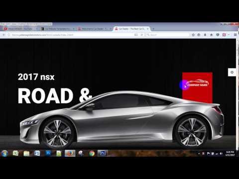 Photoshop premium car template design for themeforest - 74-4 Batch - 12th class