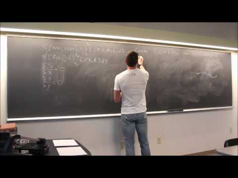 Particle Physics Topic 10: Actions, Lagrangians and Equations of Motion