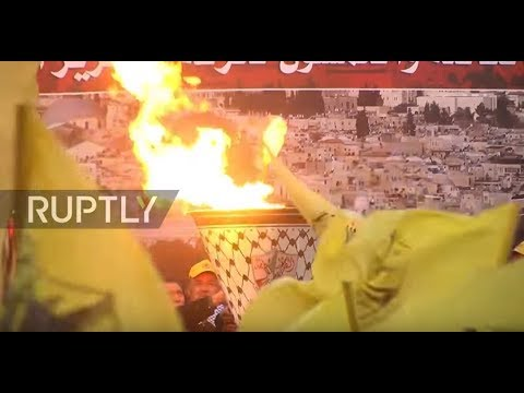 State of Palestine: Thousands mark 53rd anniversary of Palestinian revolution
