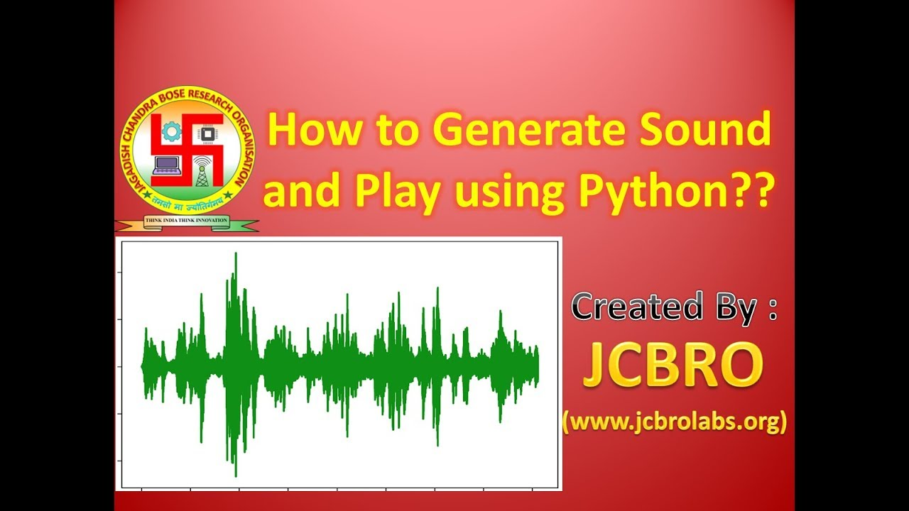 Producing sound in python you cannot write