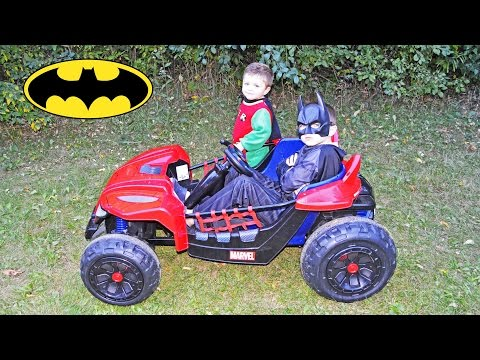 Download Youtube: Batman and Robin Save the Day YouTube Kid Friendly Superhero Video