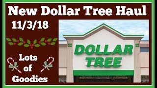 New Dollar Tree Haul 🤑 11/3/18