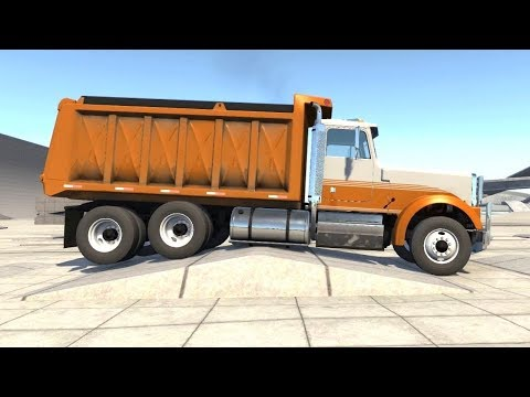 BeamNG Drive Update - Dump Truck Suspension Test