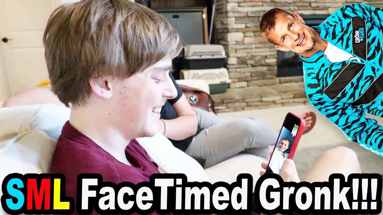 SML FaceTimed Gronk!!!