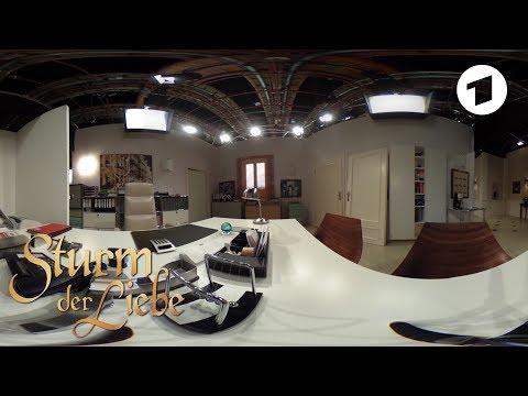 360-Grad-Freitag: Florian Frowein im Büro | Sturm der Liebe