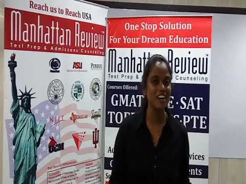 MS Admission Services - Manhattan Student Testimonials   Keerthi