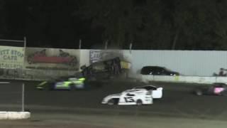 Kennedale Speedway Park IMCA SportMod Crash