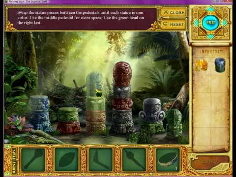 Mystery Age: The Imperial Staff (First Totem Puzzle Solution)