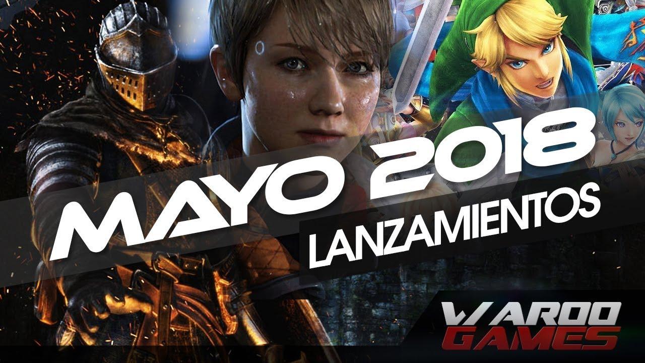 Los Mejores Juegos Que Se Lanzaran En Mayo 2018 Ps4 Pc Xbox One