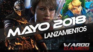 Los Mejores Juegos que se lanzarán en Mayo 2018 PS4 PC Xbox One Switch - WarooGAMES