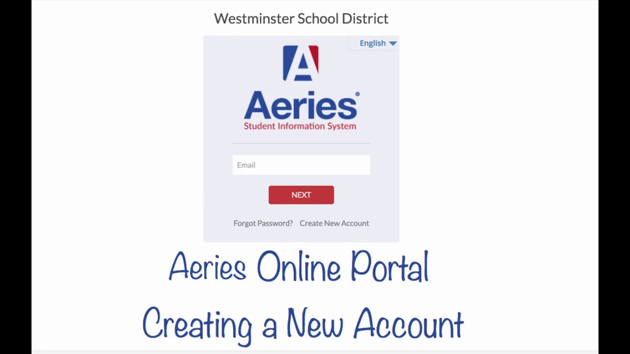 sbcusd aeries Aeries Online Portal Account Creation - YouTube