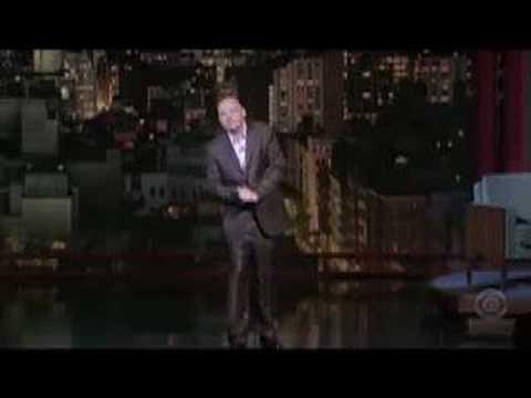 Bill Burr on Letterman