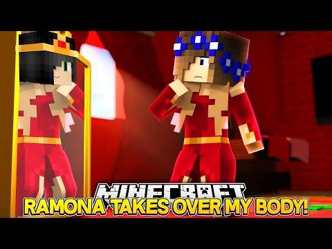 Minecraft Little Carly-RAMONA TAKES OVER MY BODY!! (Body Swap)