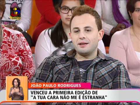 Você na TV: Bastidores João Paulo Rodrigues