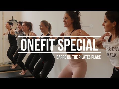 OneFit special - Barre bij The Pilates Place in Rotterdam