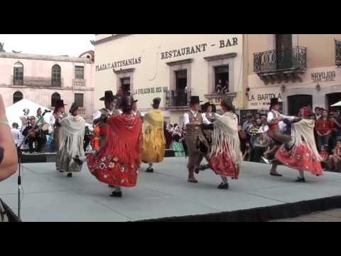 Actuación en Zacatecas Folkloriada 2016
