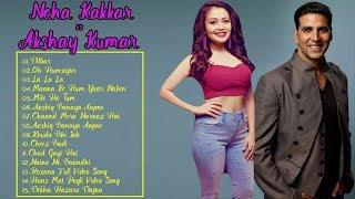 Best Of Bollywood Songs - Super Hits Of Neha Kakkar vs Akshay Kumar -  Audio Jukebox 2018