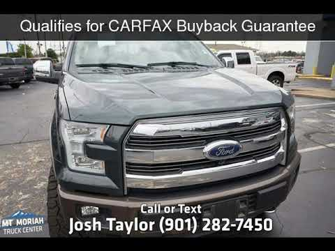 2015 Ford F-150 Lariat Used Cars - Memphis,Tennessee - 2019-03-12