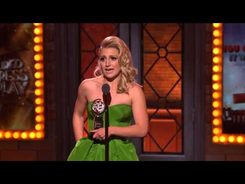 Acceptance Speech: Annaleigh Ashford 2015
