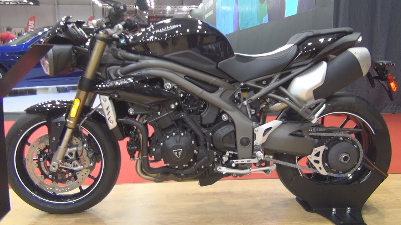 triumph speed triple s 2018 exterior and interior youtube. Black Bedroom Furniture Sets. Home Design Ideas