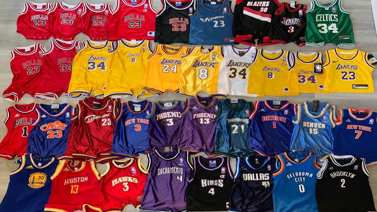 NBA Jersey Collection 2019! (My Son's Edition)