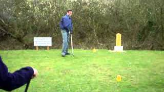 Golf Tee off fail. EXTREMELY FUNNY