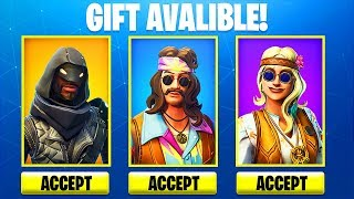 Giving a GIFT in Fortnite! (Fortnite Gifting System)