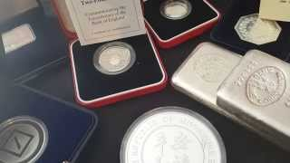 Silver bullion June haul (2015)!! #Greece #China (£2tn off stock market) #Economy chat