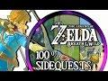 Zelda Breath Of The Wild ► 100% Sidequests - Lösungen & Orte - Nebenaufgaben Von A - D