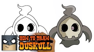 How to Draw Duskull | Pokemon | Awesome Step-by-Step Tutorial