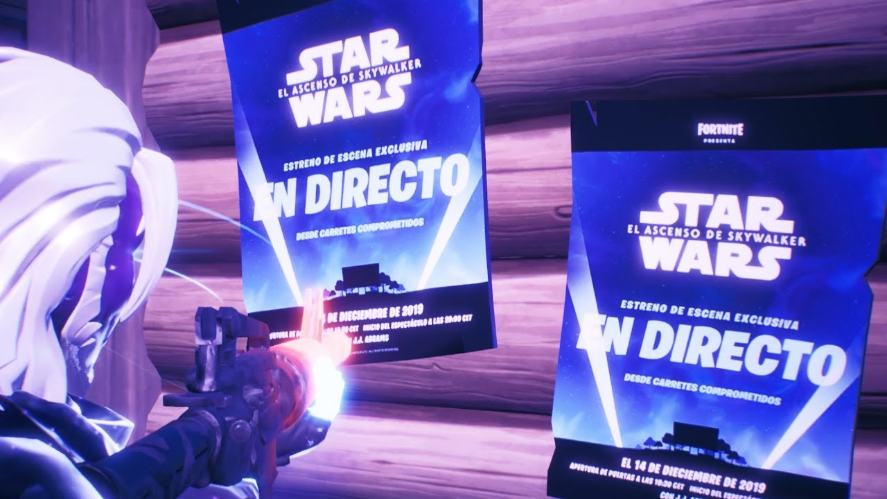 Fecha Y Hora Evento Star Wars Fortnite Battle Royale Youtube