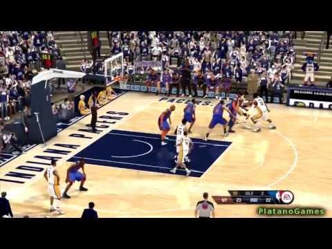 NBA Playoffs 2013 - New York Knicks vs Indiana Pacers - Game 6 - 2nd Qrt - NBA Live 2013 - HD