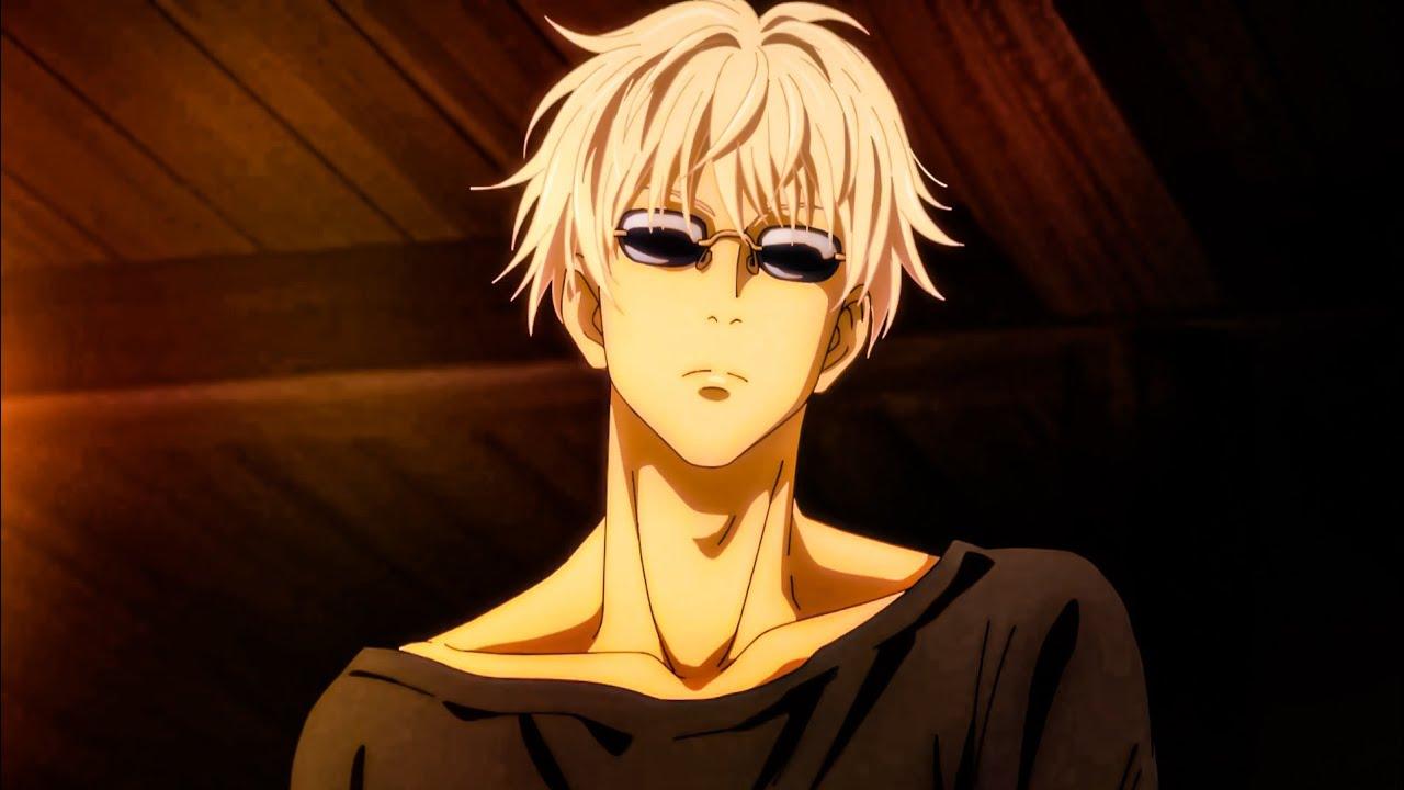 Satoru Gojo With Sunglasses Youtube